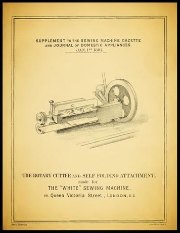 The Sewing Machine Gazette  January 1, 1881.