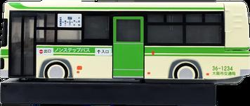 ホッチキス バス型 側面