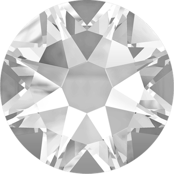 Swarovski 2058 2088 001 Crystal no Hotfix