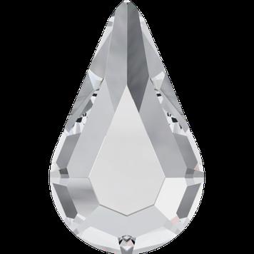 Swarovski 2300 Pisara Drop 001 Crystal Hotfix