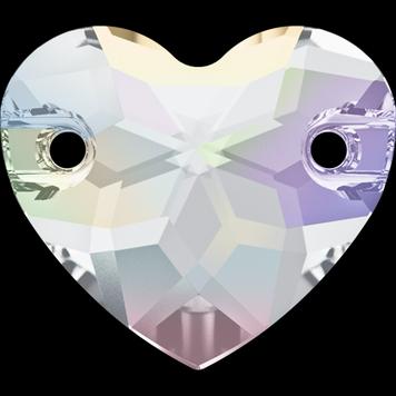 Swarovski 3259 Sydän Heart Ommeltava crystal