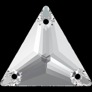 Swarovski 3270 Triangle kolmio Ommeltava crystal