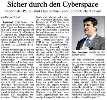 Sicher durch den Cyberspace - Mittelstands-Union im Dialog