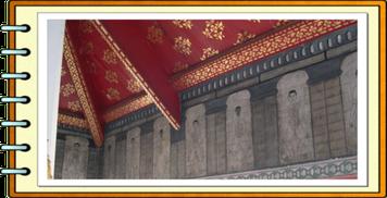 ワットポー寺院に保存されている石板