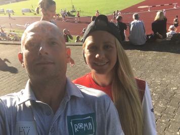 Deutschland Sparkassen Laufnacht Regensburg 5000m 6. Platz int. Laufnacht Bahn Track