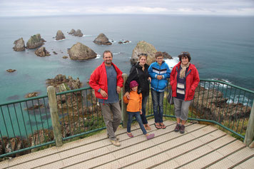 Point de vue de Nugget Point