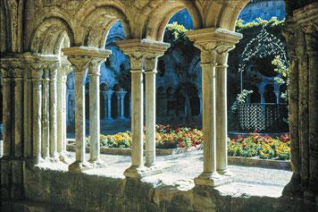 visite dans l'Aude abbaye de fontfroide