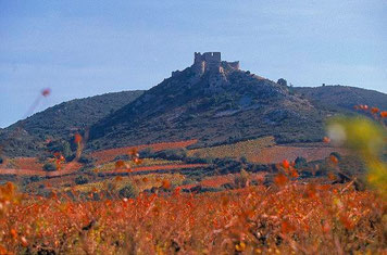 visite aude chateau pays cathare d'Aguilar