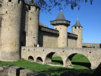 visite aude Chateau comtal cité de carcassonne
