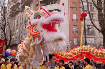 Nouvel An chinois à Paris, 2009