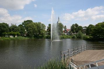 Emssee in Rheda-Wiedenbrück © Stadt Rheda-Wiedenbrück