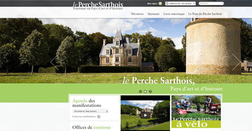 Site internet du Perche Sarthois
