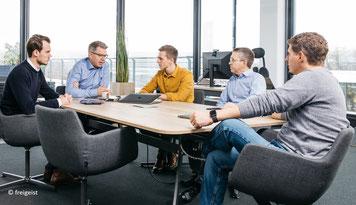 Meeting-Runde bei Frank Thelen