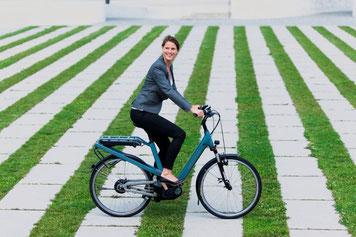 e-Bikes Probe fahren in Oberhausen