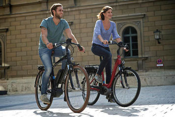Sicher unterwegs mit Ihrem e-Bike