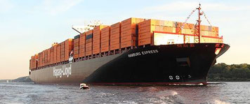 Sea transports have become a challenging option to air freight…  /  source Hapag-Lloyd