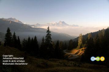 Blick vom Col de la Croix (Westschweiz)
