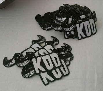 KOD patches, awards sent out by Joe Brugaletta