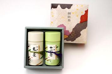 煎茶・やぶきた茶 詰合せギフトセット/有機肥料・減農薬の緑茶・粉末茶を使ったOEM・PB商品、オリジナル商品ならお任せ!美濃上石津の茶園、平塚香貴園(ひらつかこうきえん)