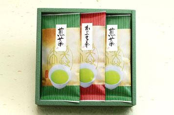 煎茶の詰合せギフト/有機肥料・減農薬の緑茶・粉末茶を使ったOEM・PB商品、オリジナル商品ならお任せ!美濃上石津の茶園、平塚香貴園(ひらつかこうきえん)