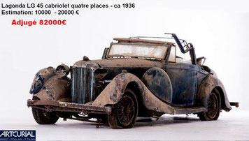 vente artcurial talbot 1936