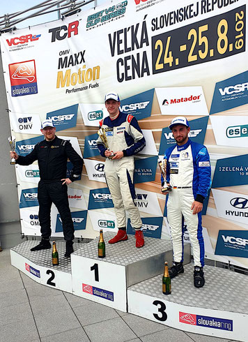 Dennis Bröker Chevrolet Cruze Eurocup Meister 2019