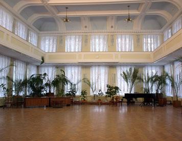 Bild: Großer Saal der Staatlichen wissenschaftlichen Alexander-Herzen-Bibliothek, Kirov