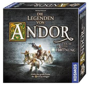Brettspiel-Rezension zu Die Legenden von Andor Teil 3: Die letzte Hoffnung