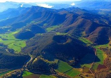 Ла гарроча - в краю вулканов
