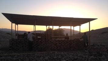 Escuela de Samra en el valle del Jordán.