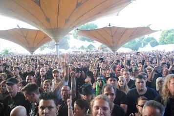 Das Amphi-Festival ist wieder zu Hause im Kölner Tanzbrunnen / Foto: Dunkelklaus