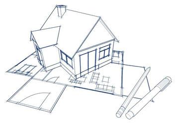 Gestaltungen von Wohn- und Geschäftsräumen