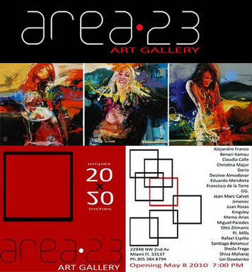 Area 23 Art Gallery 2294B NW 2nd Av. Miami, Fl