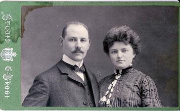 Frieda und Hermann Weiler ca. 1912