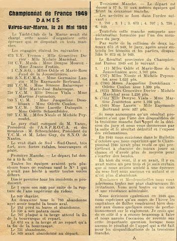 Un championnat de France Dames chahuté …