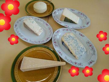 岩倉市生涯学習センターのチーズ講座2