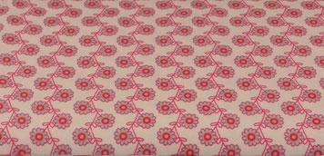 Jersey Blumen creme/pink/hellblau