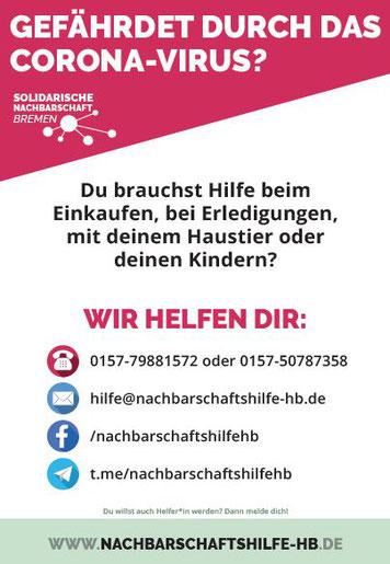 Nachbarschaftshilfe-HB - solidarische Nachbarschaft Bremen