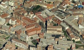 Vista aérea de Vicálvaro (Bing Maps)