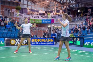 Dieses Jahr mit neuen Partnerinnen: Carla Nelte und Johanna Goliszewski (Bild: Bernd Bauer)