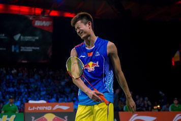 Auch er konnte keinen Titel für China holen: Chen Long (Bild: Bernd Bauer)
