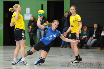 TV Jahn Duderstadt (blau) vs Northeimer HC III (gelb)