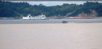 Encontro das Aguas (Zusammentreffen der Flüsse)
