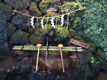 貴船神社の手水舎