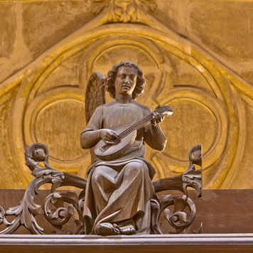 Ange musicien, Notre-Dame de Paris © Stéphane Compoint