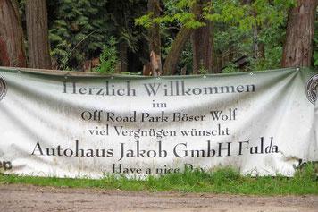 Off Road Park Böser Wolf bei Fulda