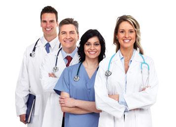 Mediziner und Fachleute