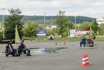 Andreas Prautsch fuhr auch unter dem strengen Blick der Streckenkontrolleure sicher.
