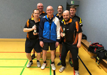 1. Tischtennismannschaft des GSBV Halle