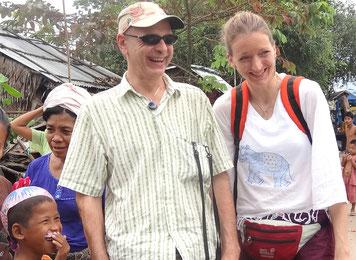 Thierry Cuberos (fondateur et chargé de communnication de PASDB), ici avec Daniela Schieberle, la co-fondatrice. Téléphone : 05 53 50 41 14 et 06 82 40 57 03.